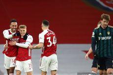 Arsenal Vs Leeds: Bikin Hattrick, Aubameyang Catat Pencapaian Istimewa