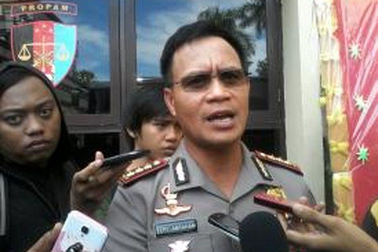 Kepala Polrestabes Makassar, Komisaris Besar (Kombes) Polisi Fery Abraham.