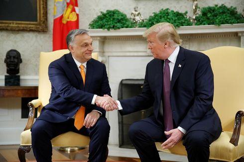 PM Hungaria yang Dikecam Eropa Disambut Trump di Gedung Putih