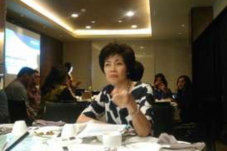 Presiden Direktur & CEO BCA Life Christine Setyabudhi di Jakarta, Rabu (14/12/2016).