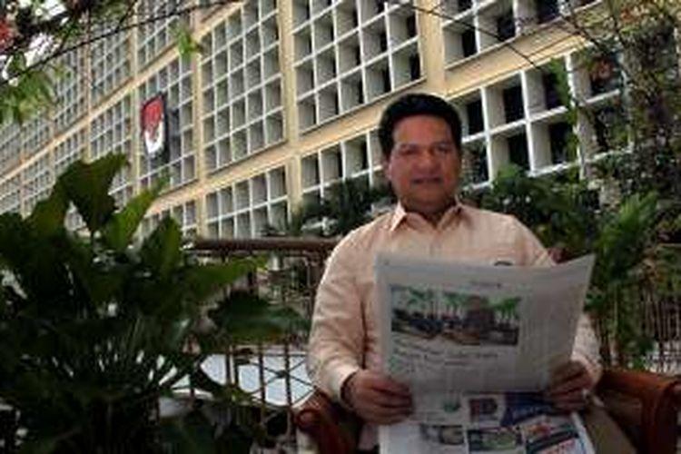 Husni Kamil Manik Ketua Komisi Pemilihan Umum (KPU) Pusat