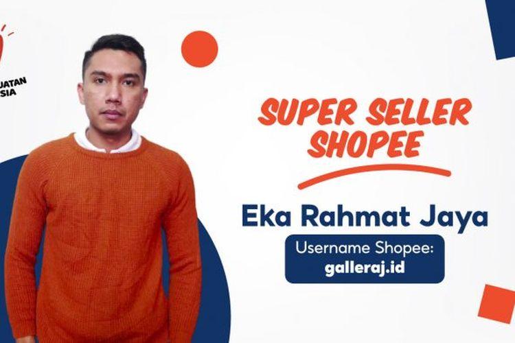 Salah satu penjual berstatus Star Seller pada platform Shopee.