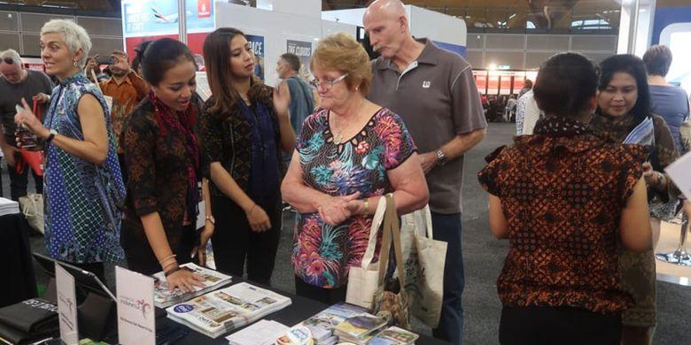 Paviliun Wonderful Indonesia di Olympic Park Sydney, Australia berlangsung 2-3 Februari 2019. Kementerian Pariwisata (Kemenpar) berpartisipasi di Flight Centre World Travel Expo di empat kota besar Australia yakni: Sydney (2-3 Februari 2019), Melbourne dan Perth (9-10 Februari 2019), dan Brisbane (16-17 Februari 2019).