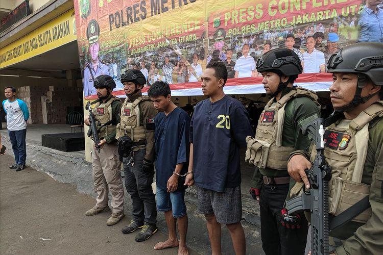 Para Pelaku Pembunuhan di Pantai Beachpool Taman Impian Jaya Ancol