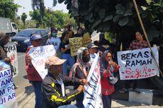 Korban Gusuran Pekayon Jakasetia Kembali Demo BPN Kota Bekasi