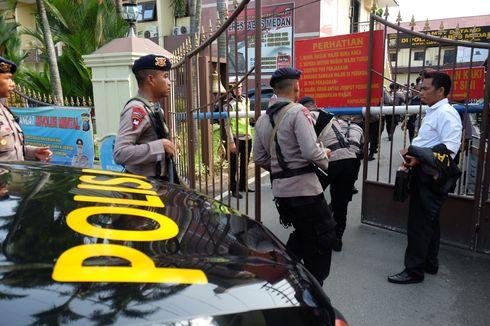 Sempat Dicegah, Terduga Pelaku Bom Bunuh Diri Melawan dan Terobos Masuk Polrestabes Medan
