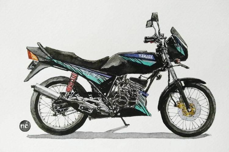 Yamaha Rx Z Laris Di Malaysia Tumbang Di Indonesia