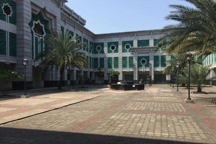 Suasana Jakarta Islamic Centre di Koja, Jakarta Utara, Rabu (10/7/2019). Tempat ini akan menjadi lokasi penampungan para pencari suaka asal Afganistan dan Somalia.