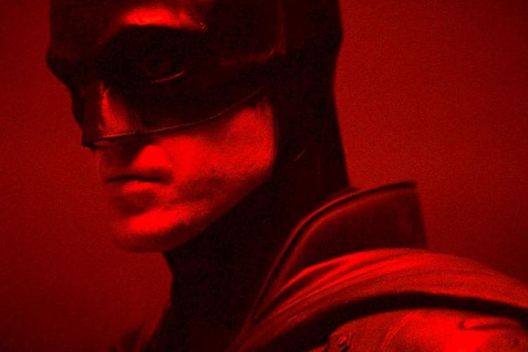 Robert Pattinson dalam film The Batman.