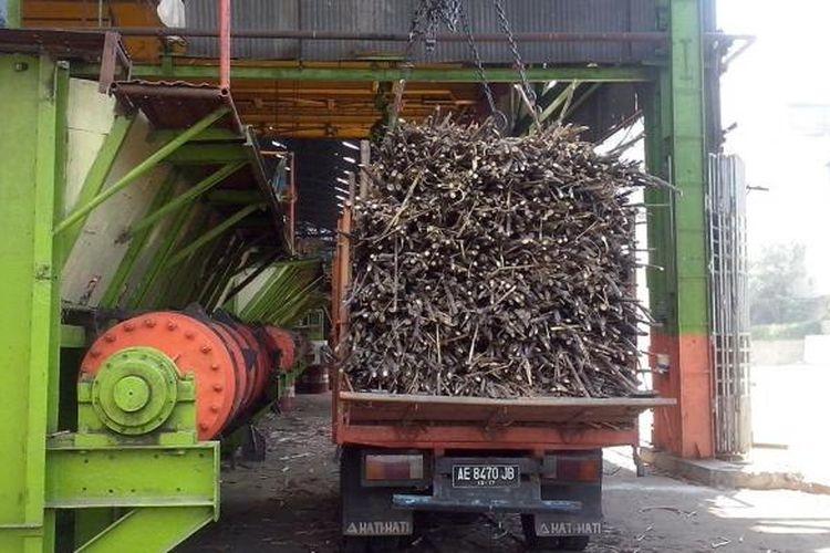 Ilustrasi: Pabrik gula milik PT Rajawali Nusantara Indonesia (Persero)