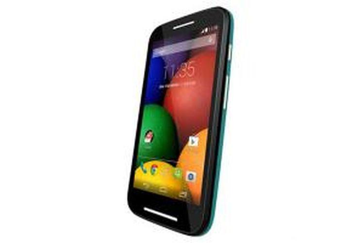 Bocoran foto produk yang diduga adalah Moto E, ponsel pintar terbaru buatan Motorola