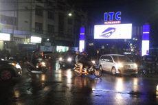 Hujan Reda, Genangan di Depan ITC Fatmawati Surut