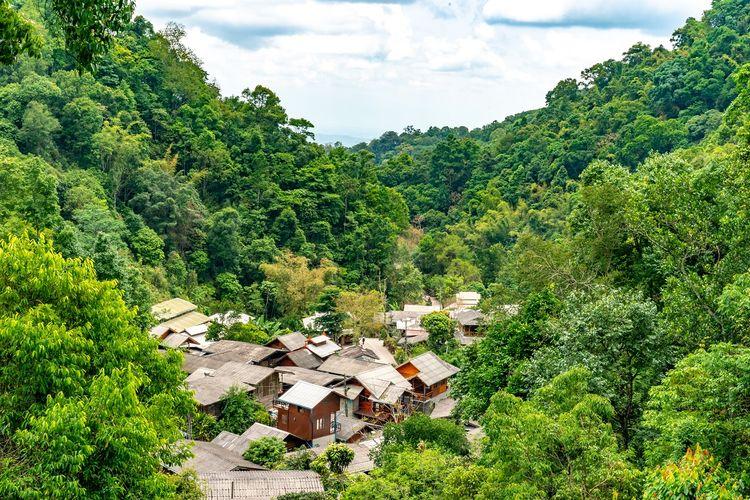 Mae Kampong, Chiang Mai, Thailand DOK. Shutterstock