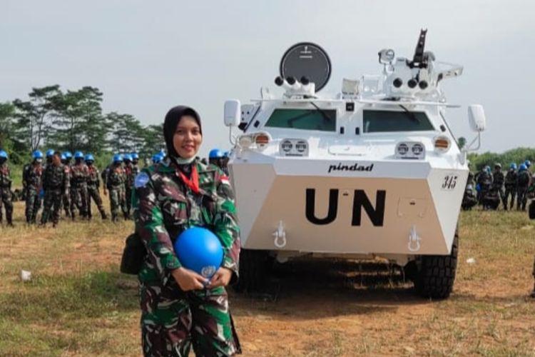 Serka Silvi Effendi, Kowal Lantamal II Padang lolos misi PBB ke Lebanon.