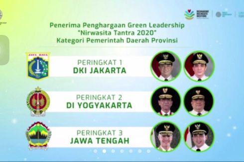 Anies Raih Penghargaan Nurwasita Tantra 2020 dari Kementerian Lingkungan Hidup