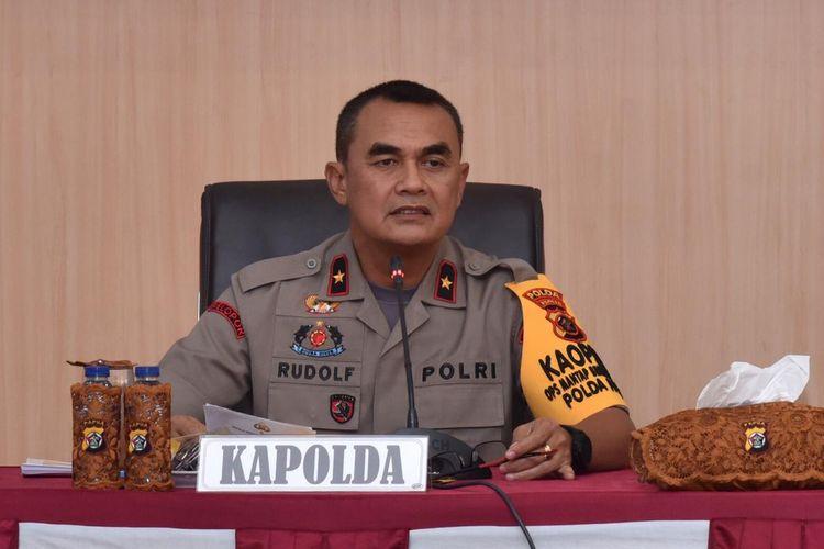 Kapolda Papua Irjen Pol Rudolf Albert Rodja.