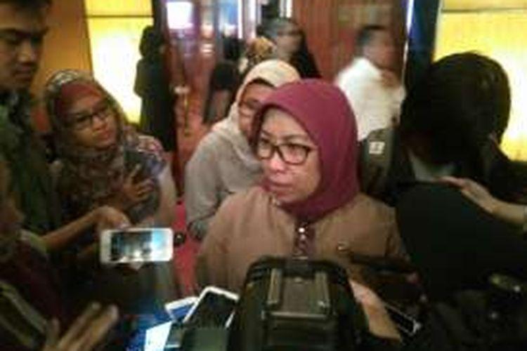 Kepala Eksekutif Pengawas Pasar Modal Otoritas Jasa Keuangan (OJK), Nurhaida Jakarta, Kamis (15/12/2016).