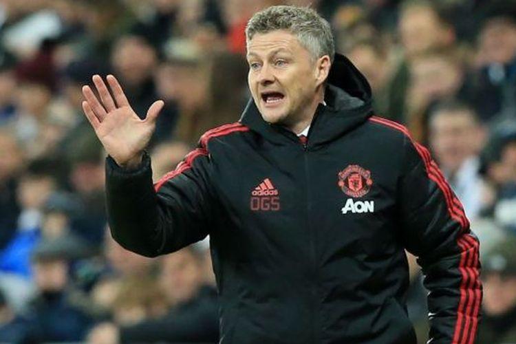 Solskjaer yakin Manchester United bisa mengalahkan Barcelona di Camp Nou, Kamis (11/4/2019).