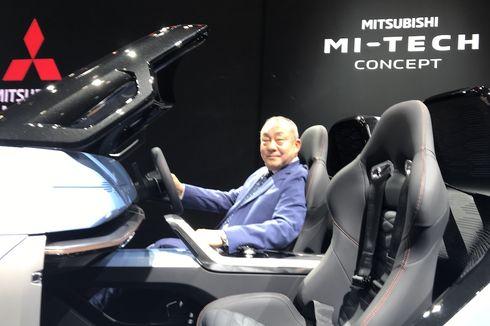 Evolusi Bahasa Desain Dynamic Shield Mitsubishi pada konsep MI-TECH