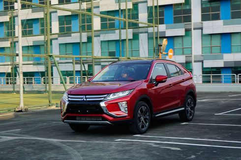 Mitsubishi Tempatkan Eclipse Cross buat Lawan Toyota C-HR