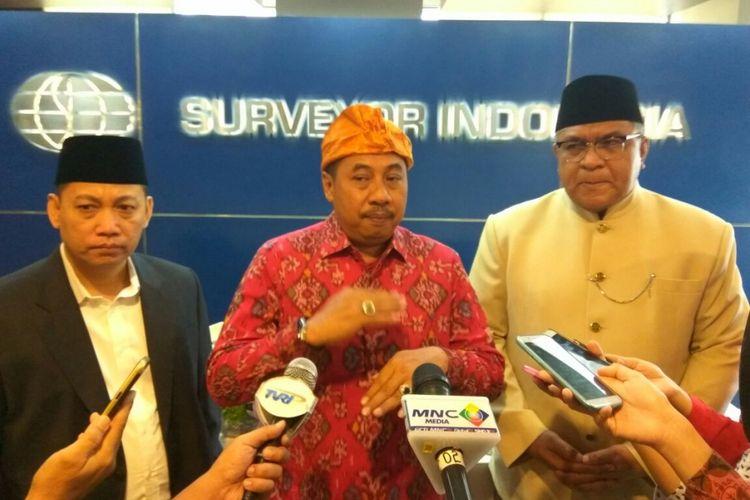 Direktur Utama PT Surveyor Indonesia (Persero), M. Arif Zainuddin Saat Ditemui di Jakarta, Selasa (1/8/2017).