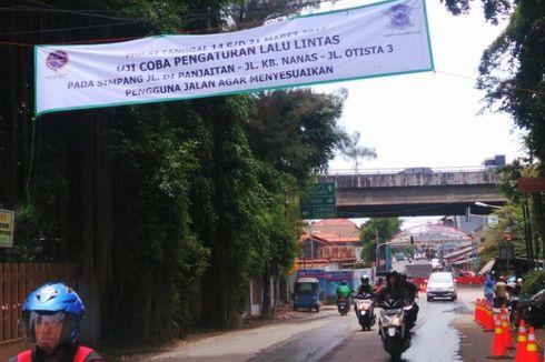 Ada Pengerjaan Sodetan Kali Ciliwung, Jalan Otista III Ditutup 2 Bulan