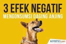INFOGRAFIK: Efek Samping Mengonsumsi Daging Anjing