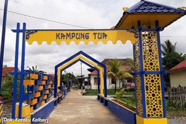 Wajah Kawasan Kampung Tua yang berlokasi di Kelurahan Dalam Bugis, Kecamatan Pontianak Timur
