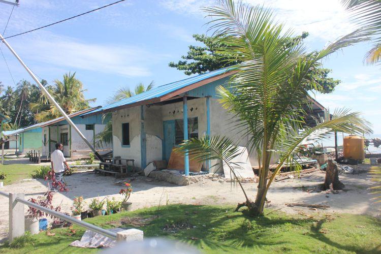 Pembangunan Program Bantuan Stimulan Perumahan Swadaya (BSPS) di Provinsi Papua.