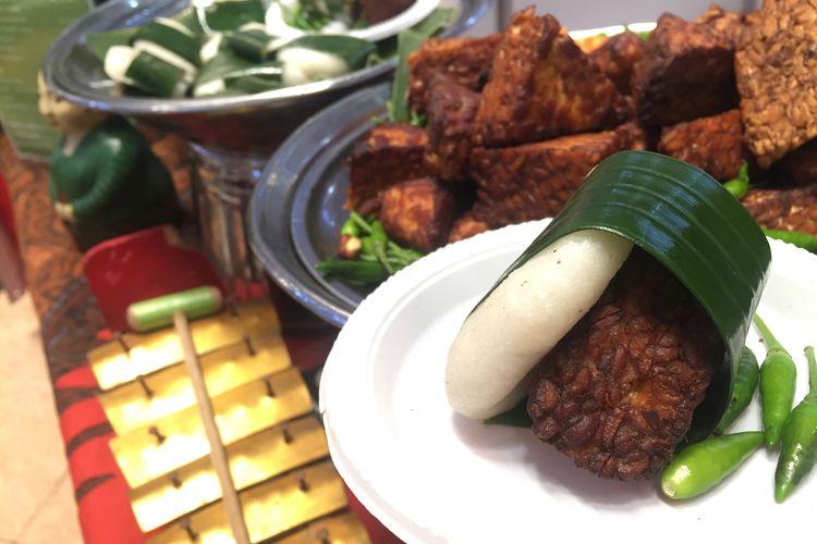 Makanan khas Jawa, Jadah tempe