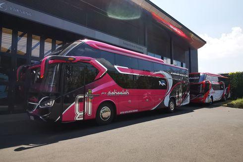 PO Sahaalah Rilis 2 Bus Suites Class Buatan Karoseri Laksana