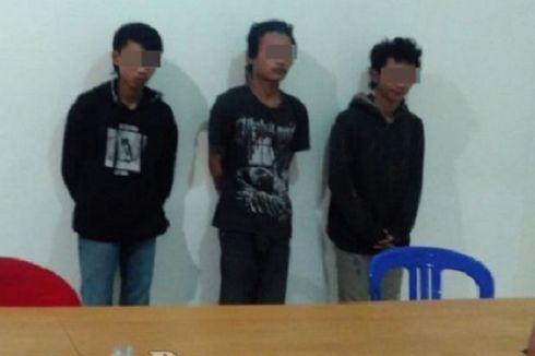 Corat-coret Tugu Helikopter Milik TNI AU, 3 Remaja Dibekuk
