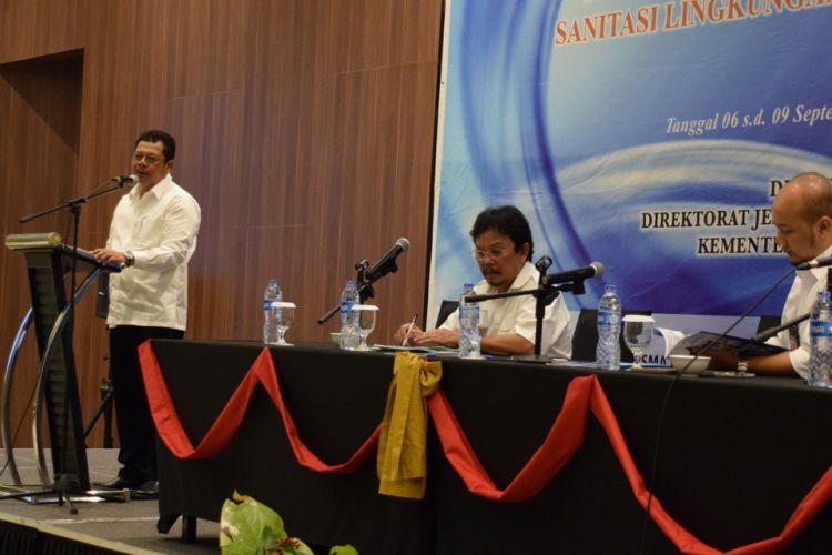 Bimbingan teknis review proposal sekolah calon penerima bantuan pemerintah sanitasi lingkungan sekolah di Tangerang, 6-9 September 2018.