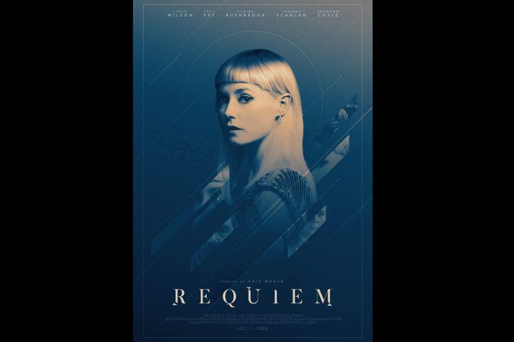 Lydia Wilson dalam serial drama Requiem (2018).