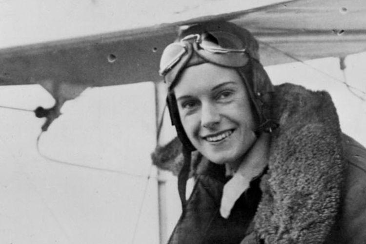 Perempuan penerbang asal Selandia Baru, Jean Gardner Batten.