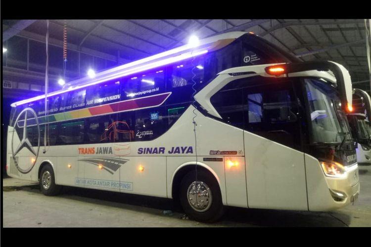 Bus AKAP baru PO Sinar Jaya Suites Class