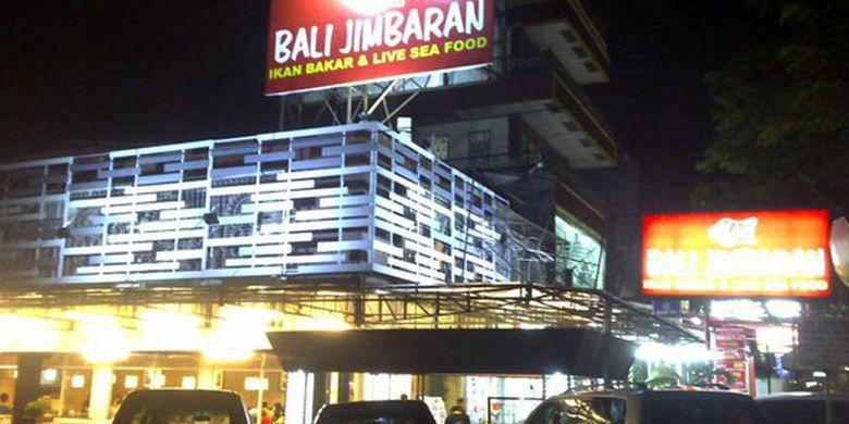 Ikan Bali Jimbaran di Muara Karang, Jakarta Utara.