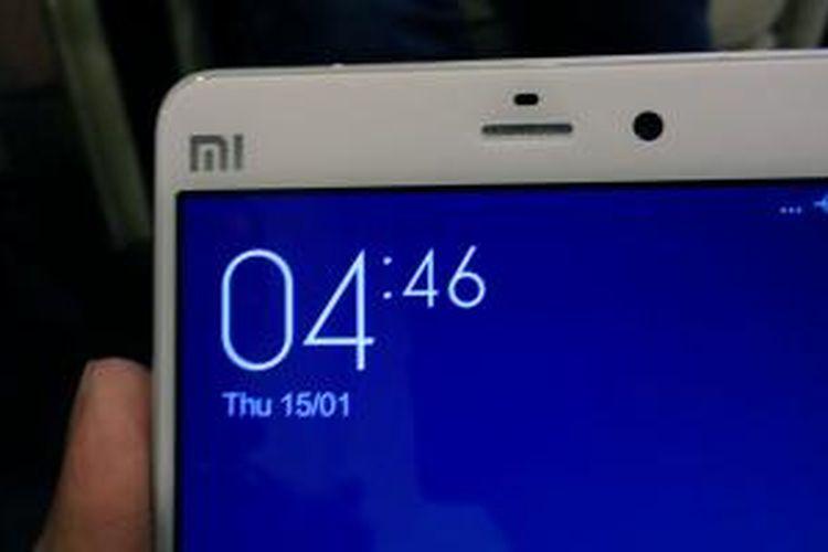 Smartphone flagship Xiaomi terbaru, Mi Note.