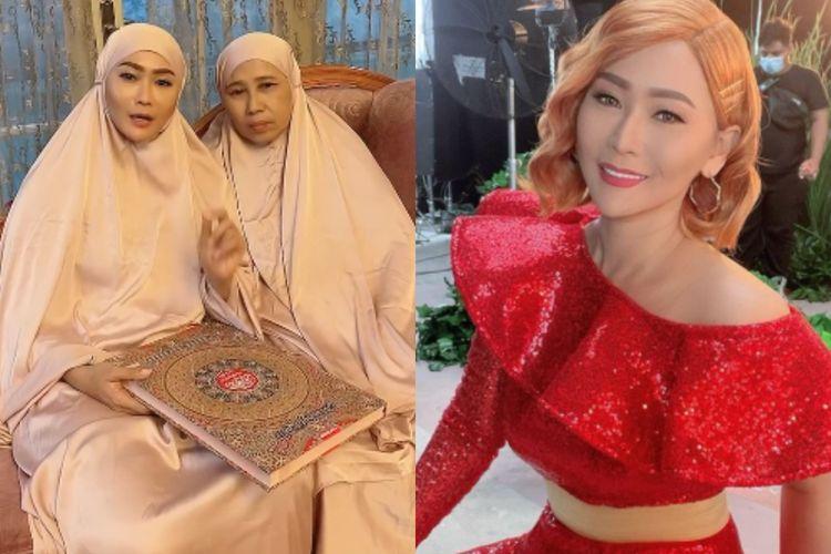 Inul Daratista bagi-bagi Al-Quran raksasa pada netizen.