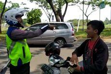 Terjaring Razia di Serpong, Seorang Pengendara Marah-marah ke Polisi