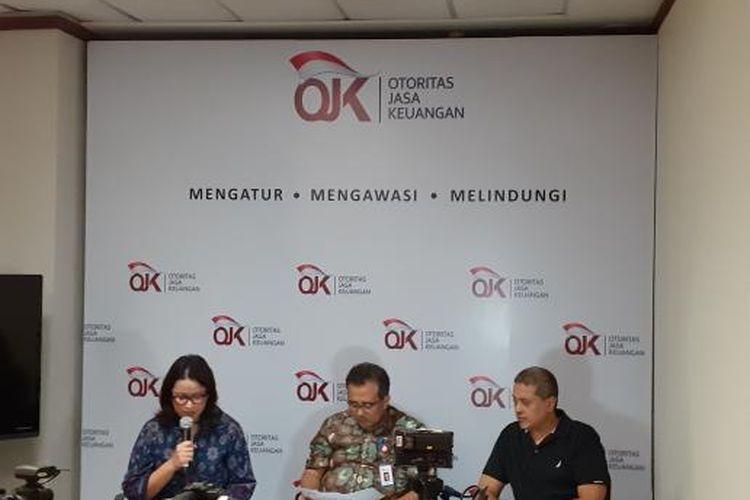 Deputi Komisioner Pengawas Perbankan III Slamet Edy Purnomo di Jakarta, Jumat (29/11/2019).