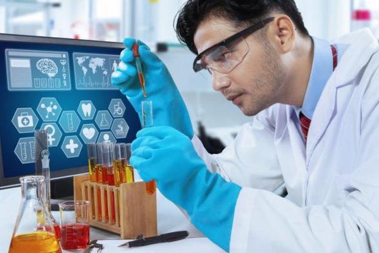 Ilustrasi industri farmasi, salah satu usaha yang bertumpu pada riset dan penguasaan sains