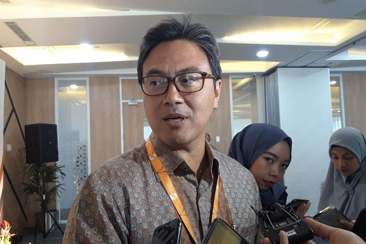 Kepala Eksekutif Lembaga Penjamin Simpnanan (LPS) Fauzi Ichsan di Jakarta, Selasa (24/8/2019).