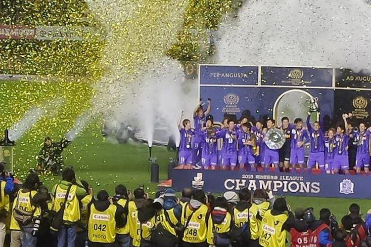Sanfrecce Hiroshima menjadi juara J1 League atau kasta tertinggi Liga Jepang musim 2015.