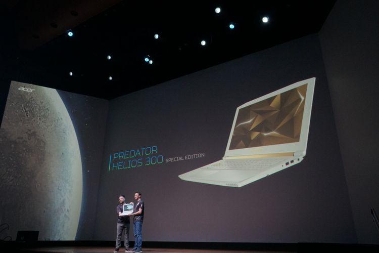 Acer Predatr Helios 300 Edisi Spesial dirilis Acer di acara NextatAcer di New York, Rabu (23/5/2018).