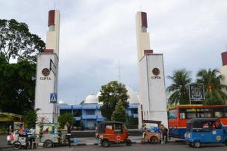 Taman Ismail Marzuki yang ada di Kawasan Cikini, Jakarta Pusat.