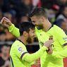 Patuhi Physical Distancing, Gerard Pique Lewati Lionel Messi di Tempat Parkir