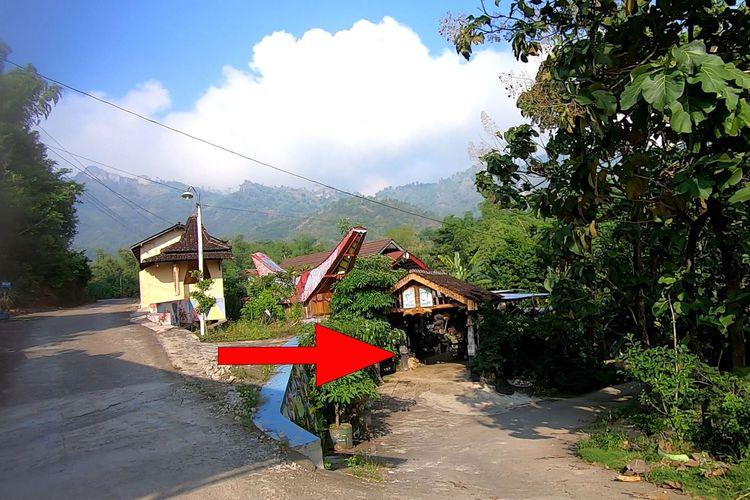 Rute menuju jalan tembus Selogiri-Manyaran, Wonogiri.