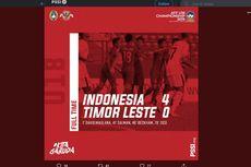 VIDEO - Cuplikan Pertandingan Piala AFF U-18 Indonesia Vs Timor Leste