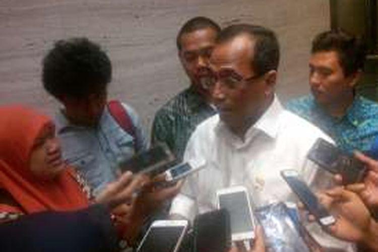 Menteri Perhubungan Budi Karya Sumadi, Hotel Grand Mecure Jakarta, Rabu (26/10/2016).
